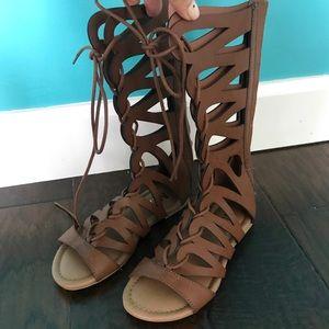 Mia Girls Gladiator Sandals